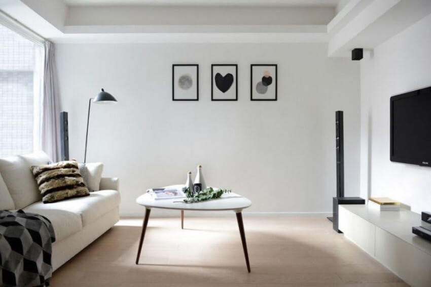 We all want a clutter-free home, but go easy on the minimalist decor.
