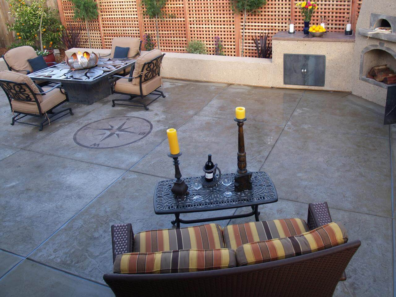 The best patio extensions are all made from concrete