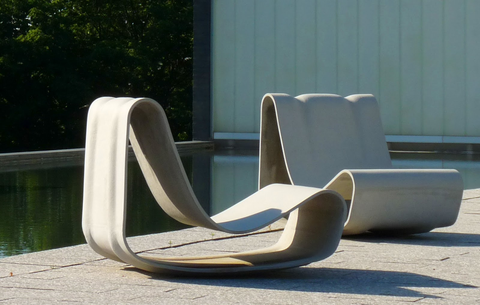 You can make furniture out of concrete