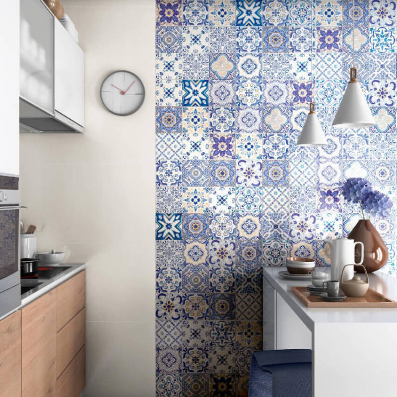 Portuguese tiles are rich and vibrant!