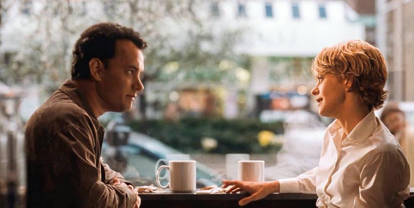 You've Got Mail stars Tom Hanks and Meg Ryan.