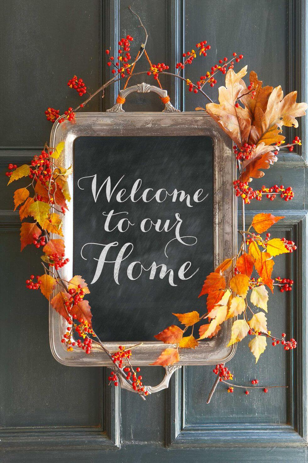 More DIY arts and crafts for fall