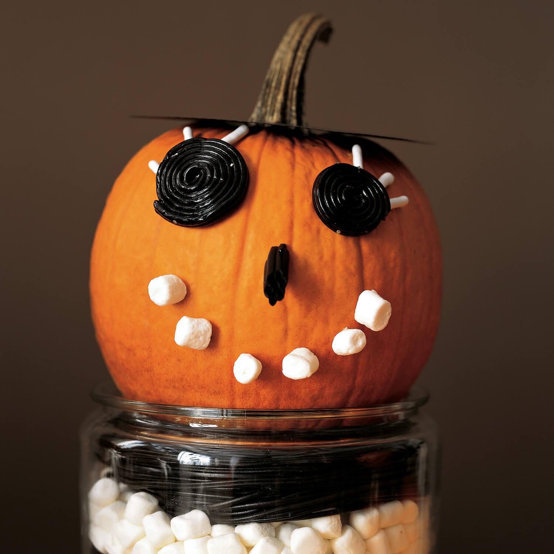 What a goofy, silly pumpkin