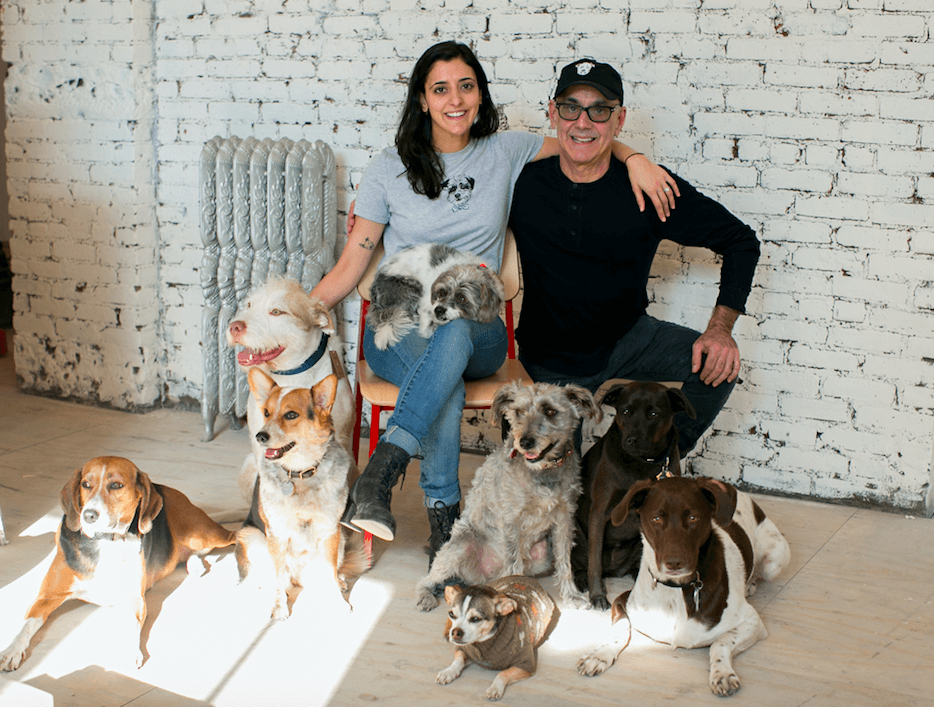 This dynamic doggo duo created New York's first dog-friendly cafe
