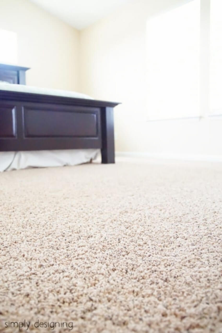 A new carpet can freshen up your home.