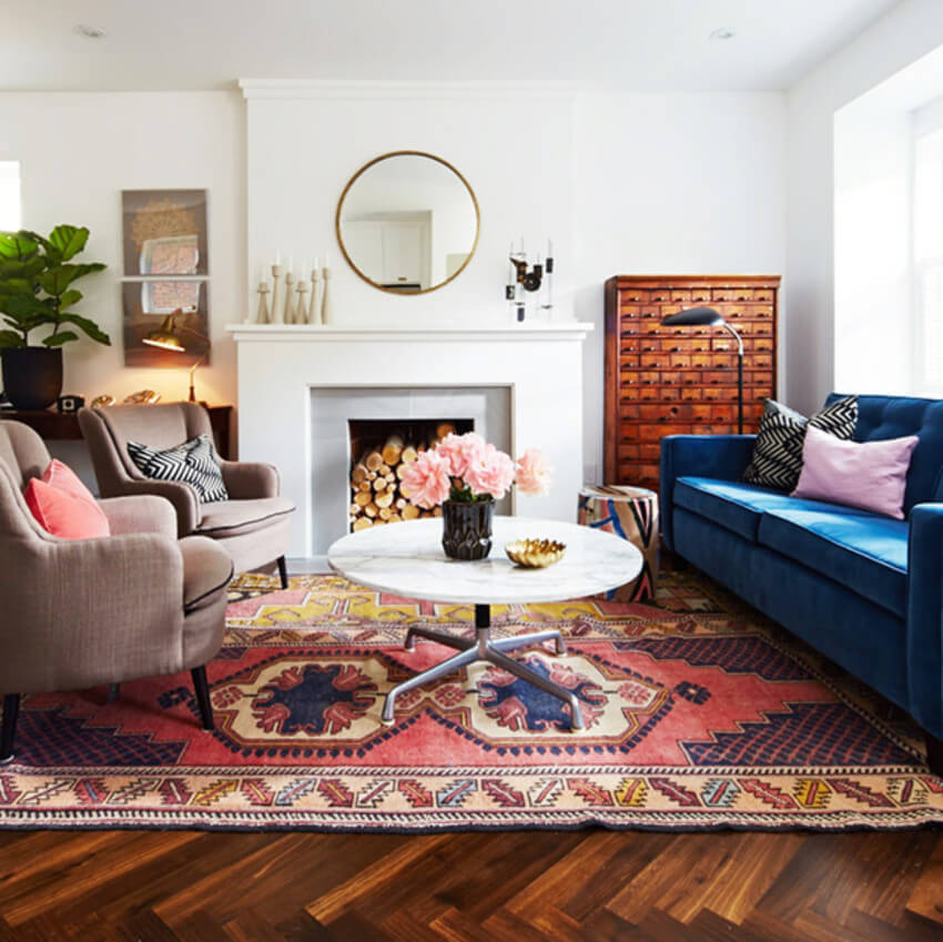 A family-friendly living room is what you need.