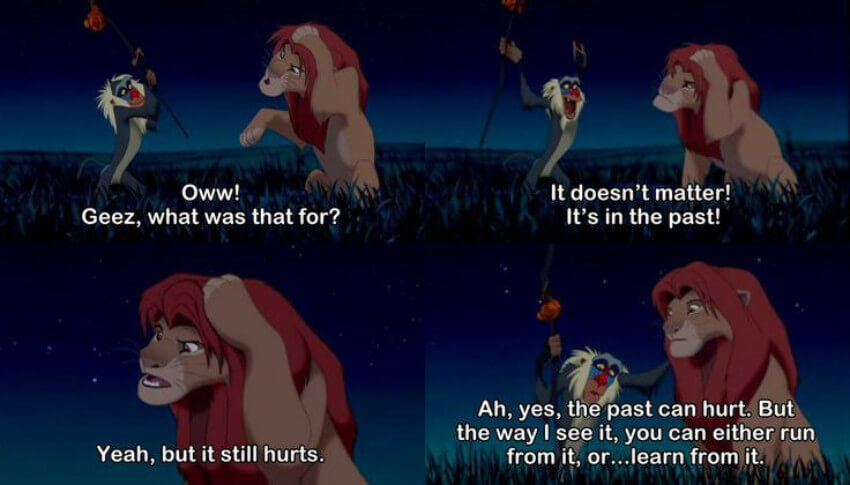 The Lion King quote.