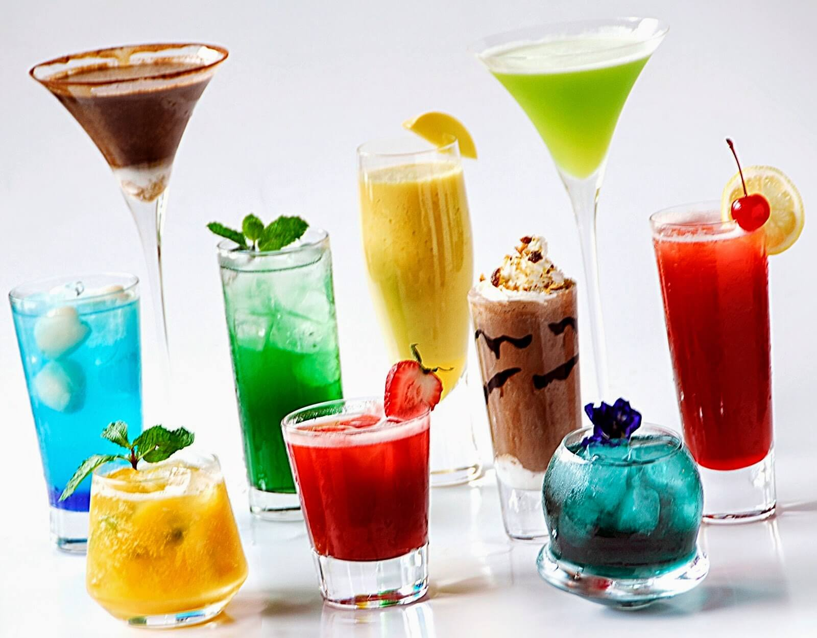 There are so many mocktails to have! Try them all!