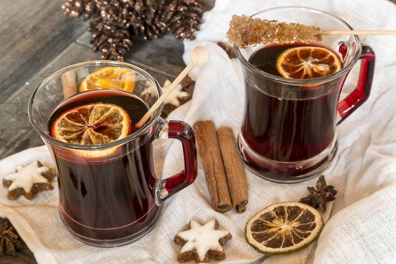 Mulled tea is one of the most pure forms of tea.