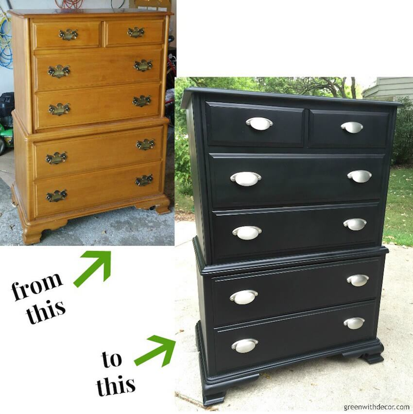 DIY dresser transformation you have to create to believe