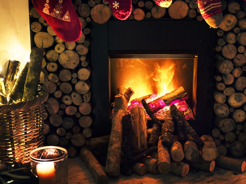 How to Open Your Fireplace for the Winter