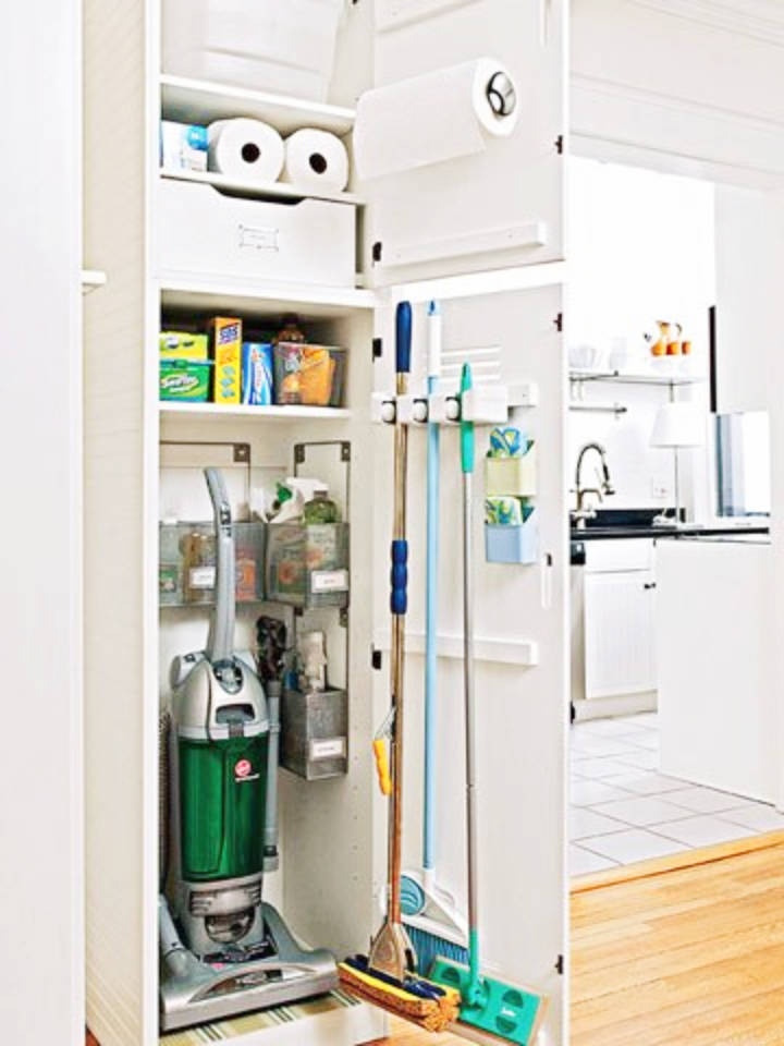 How To Organize A Small Utility Closet In 5 Simple Steps ...