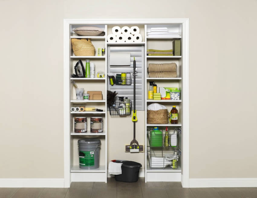 Keep it organized and practical by creating eye-level access!