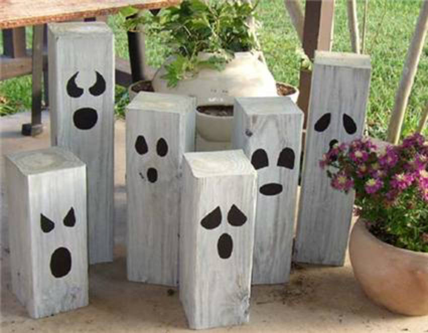 Have a few friendly ghosts haunting your garden this year!