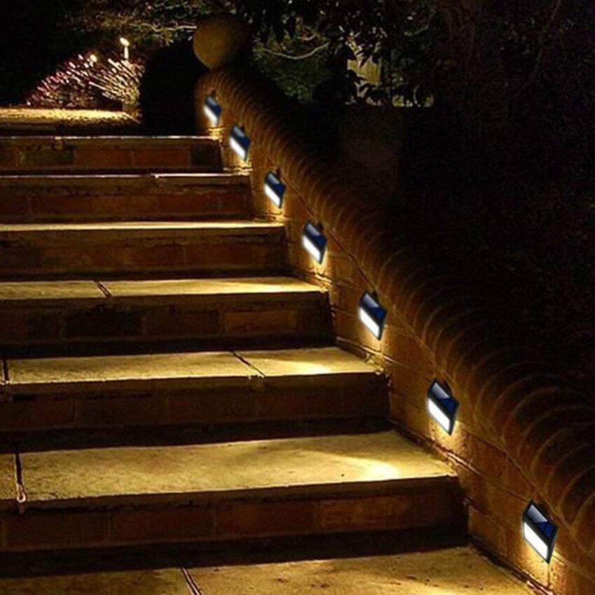Stairs illumination.