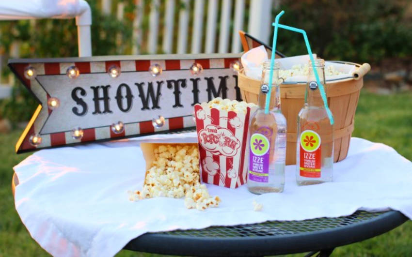 No movie session is complete without popcorn!