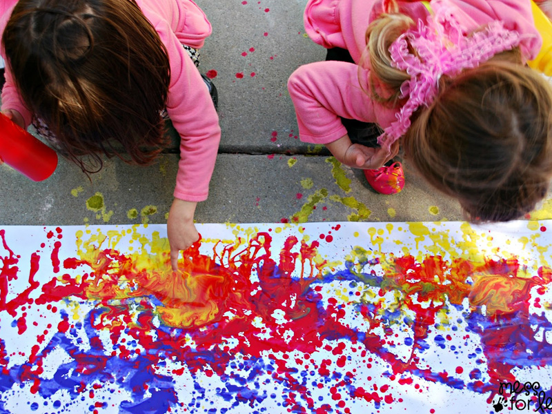 5 Super Fun Painting Projects The Kids Will Love