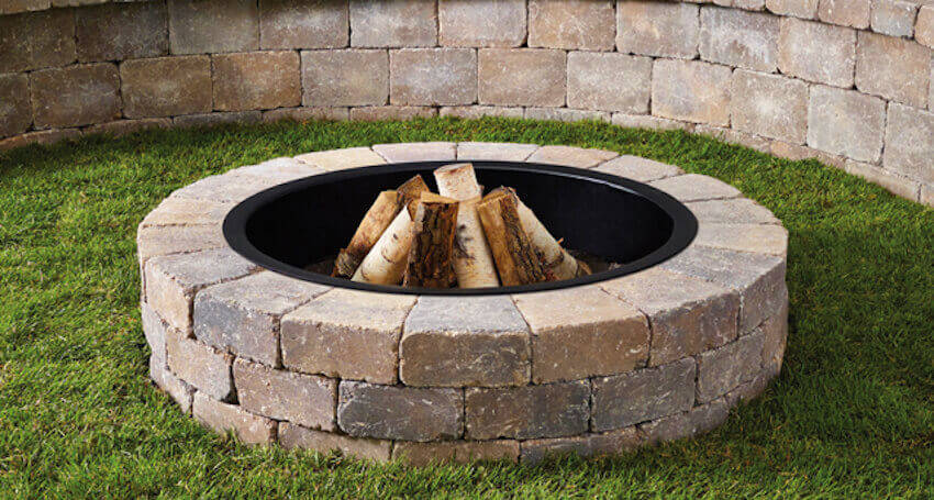 You can easily make a DIY fire pit!