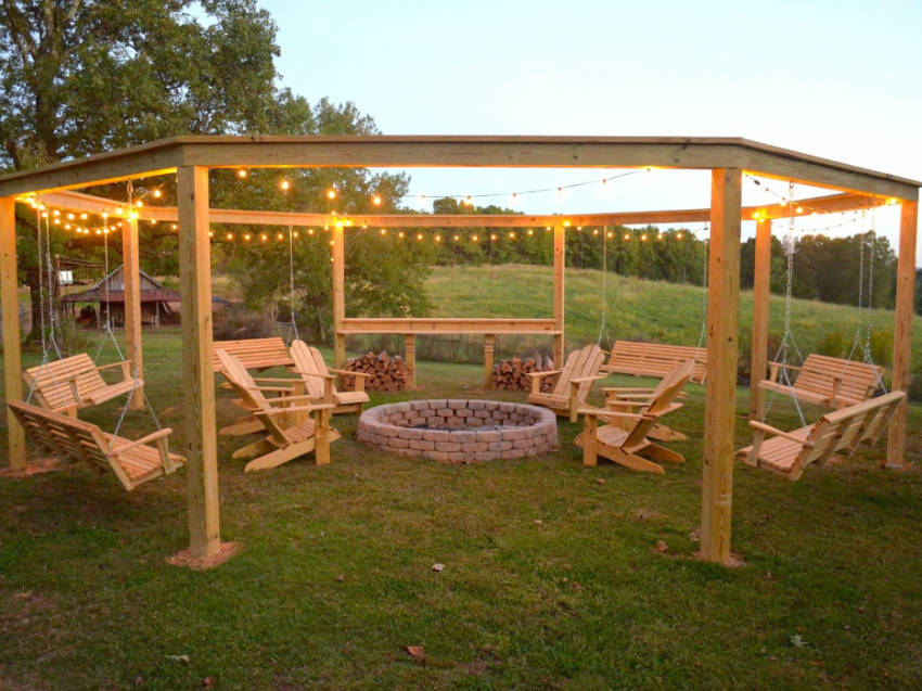Awe Inspiring Make Your Own Diy Pergola At Any Budget Homeyou Gmtry Best Dining Table And Chair Ideas Images Gmtryco