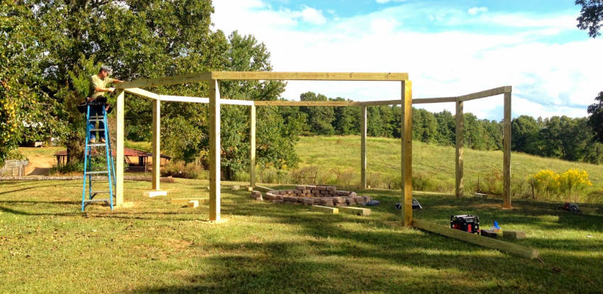 How much does it cost to build a pergola?