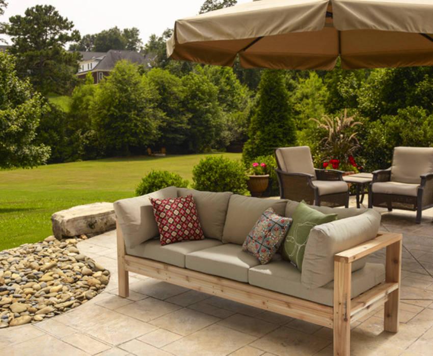 A DIY bench alternative can come off very cheap!