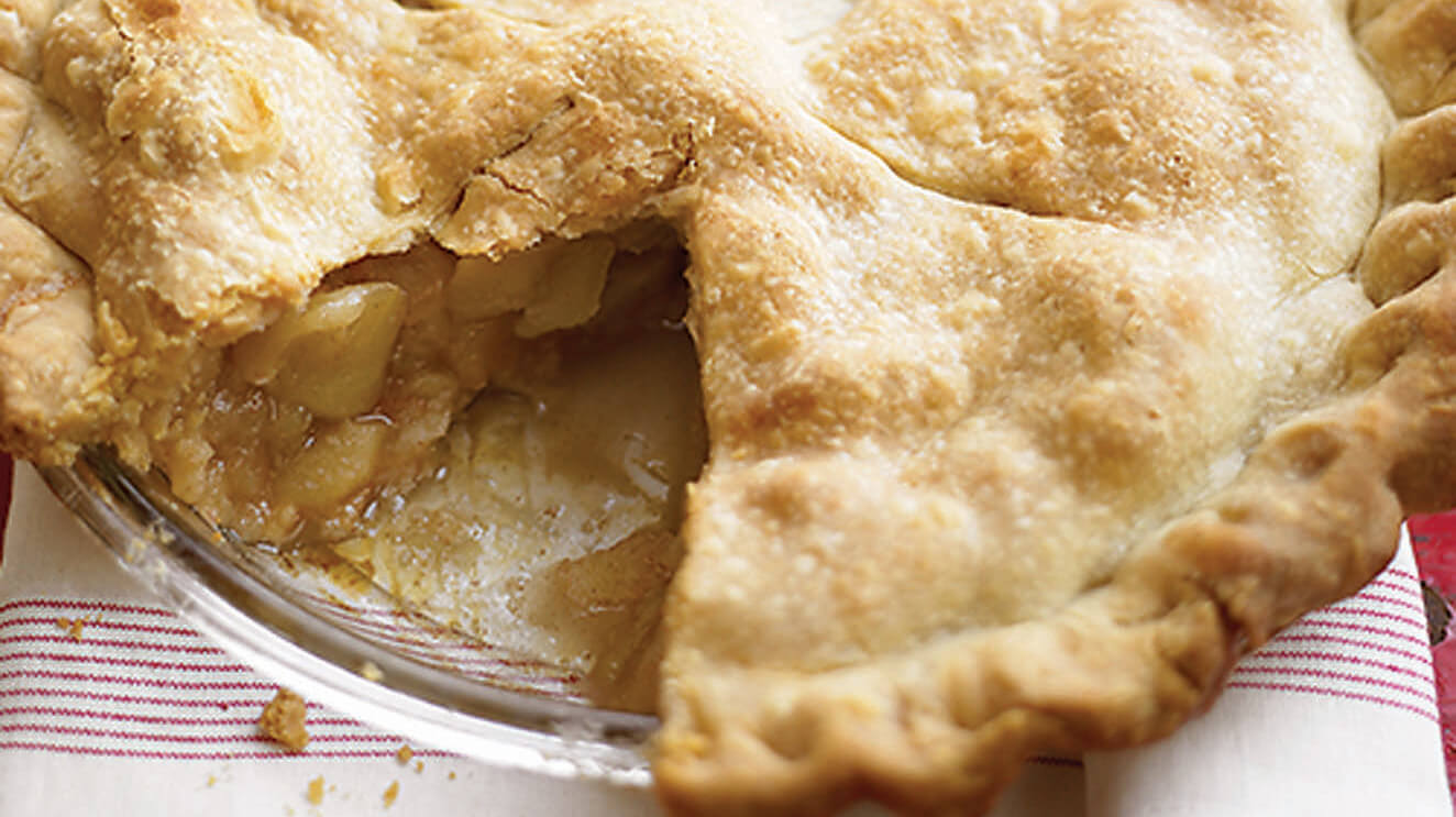Nothing quite beats a warm apple pie with some ice cream on the side