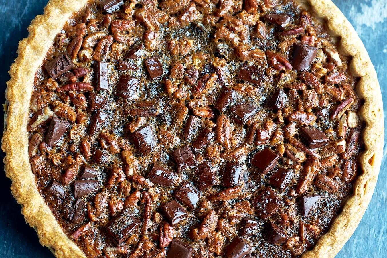 Pecan pie is a classic treat