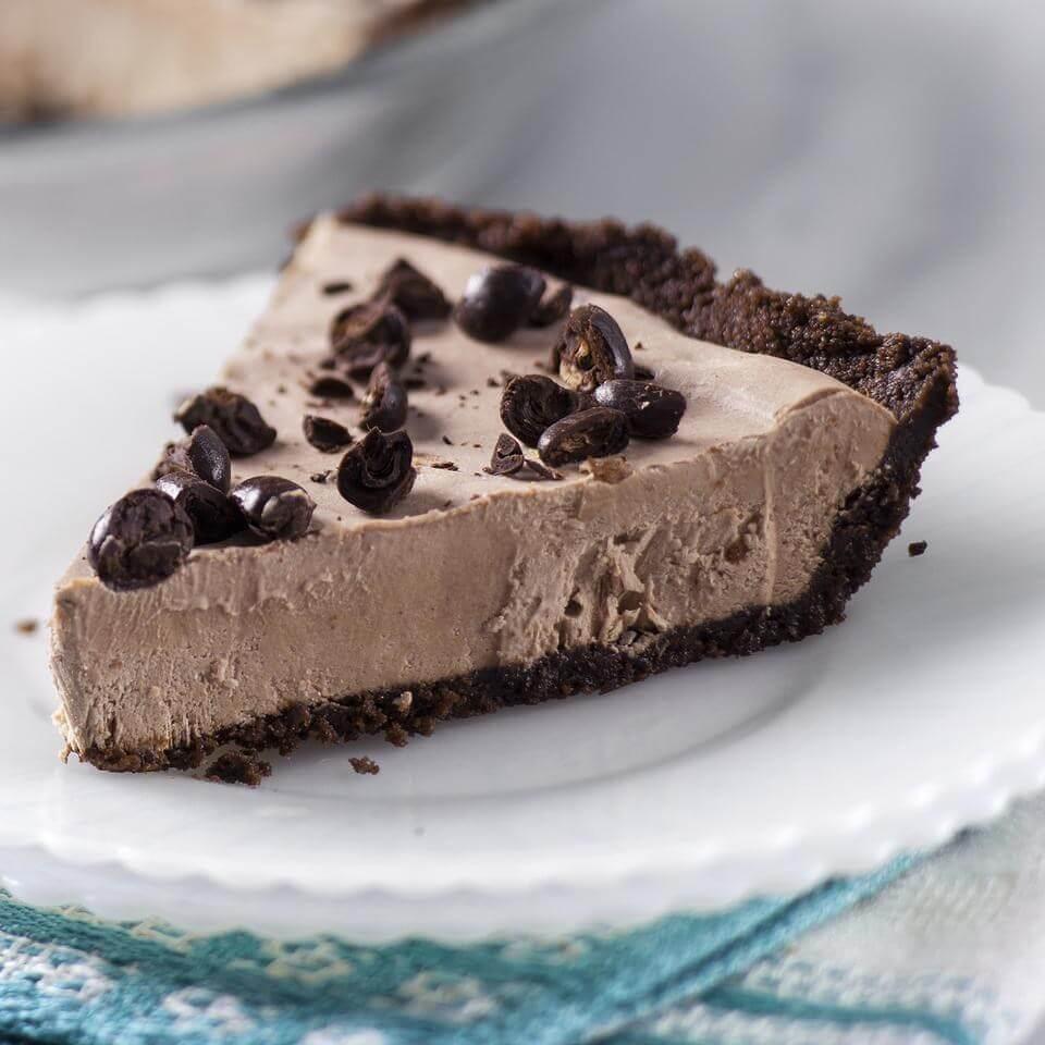 Mocha-Espresso cream pie for people who enjoy flavor