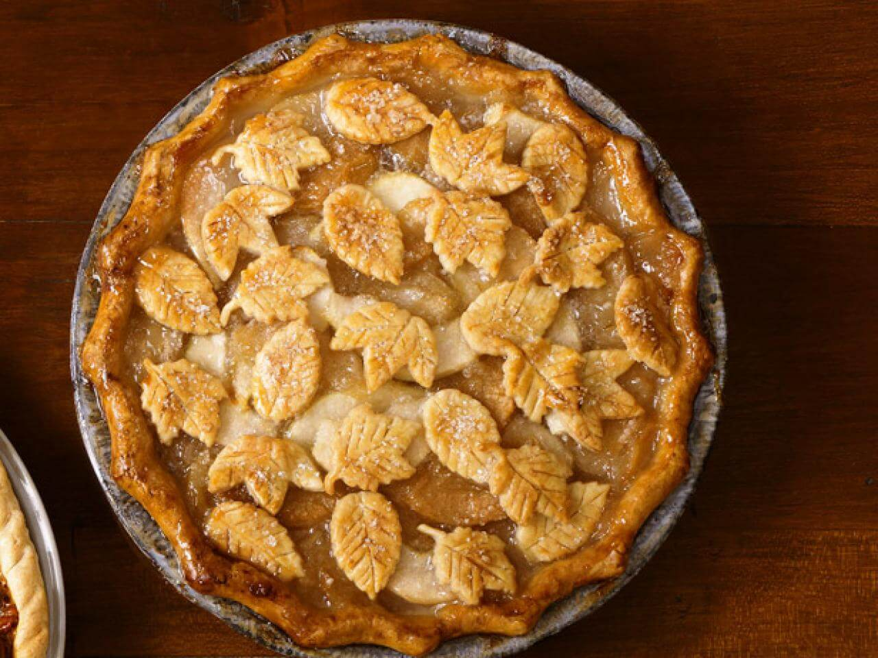 Apple ginger pear pies for thanksgiving