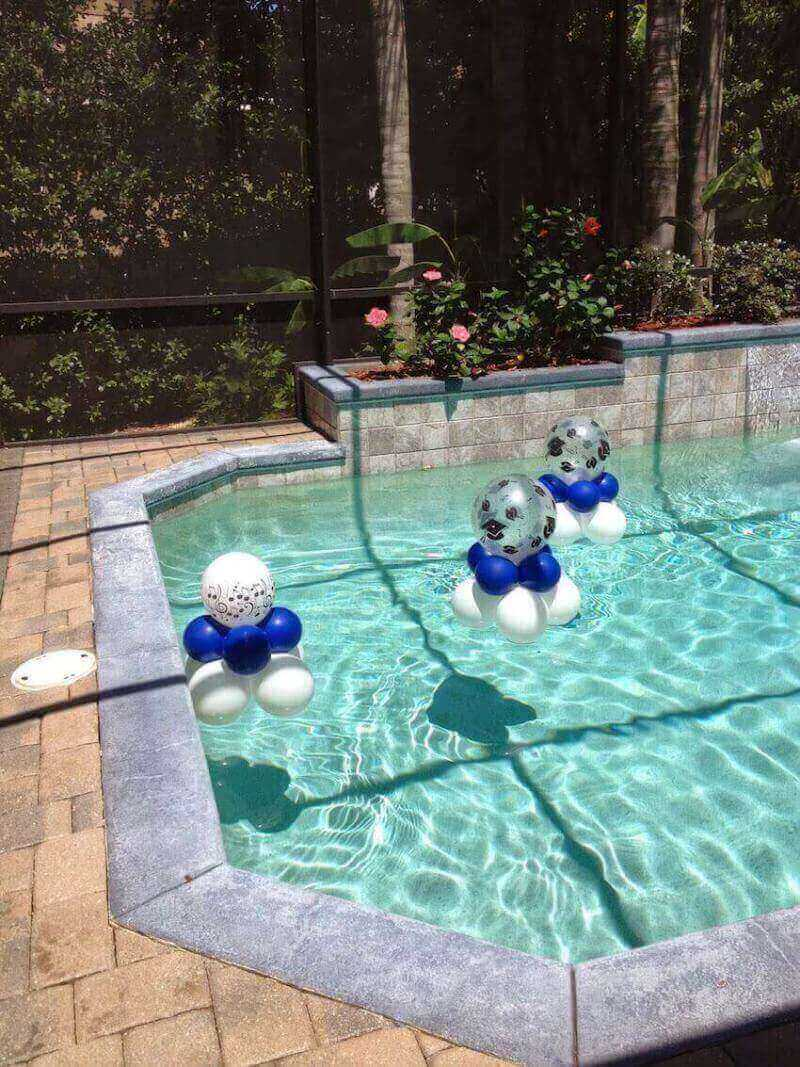 Swimming pool decor that you can do yourself