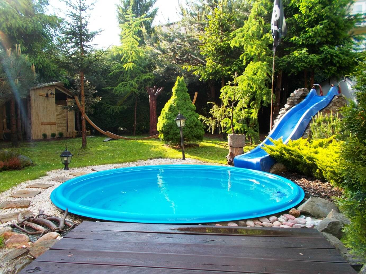 Slide into summer with these fun pool ideas