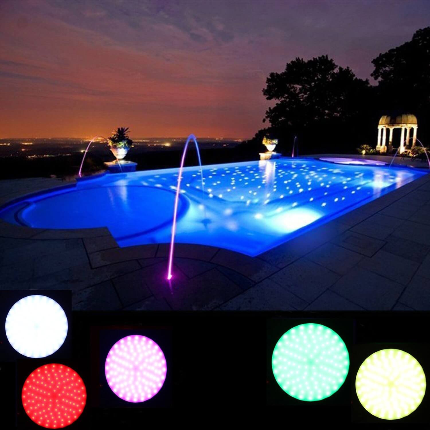 LEDs can light up the night!