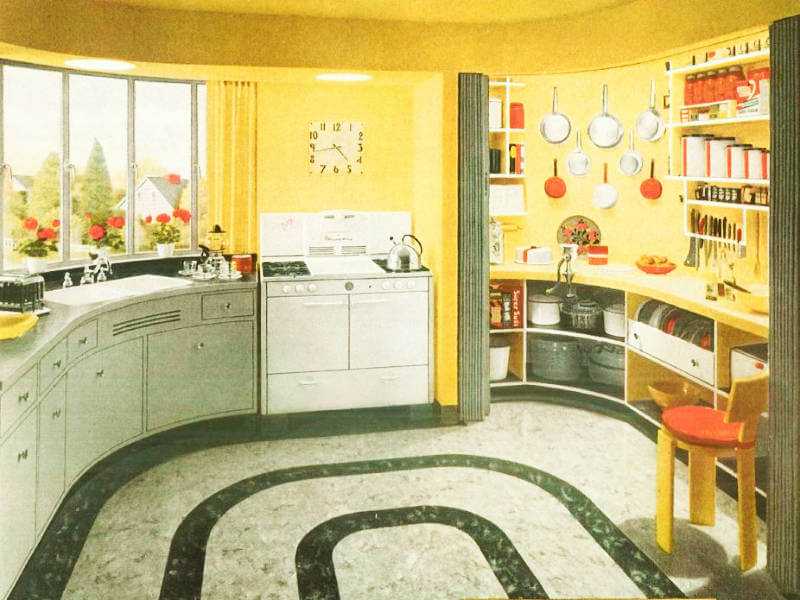 This Is How Kitchens Were Decorated from the 1920s till Today