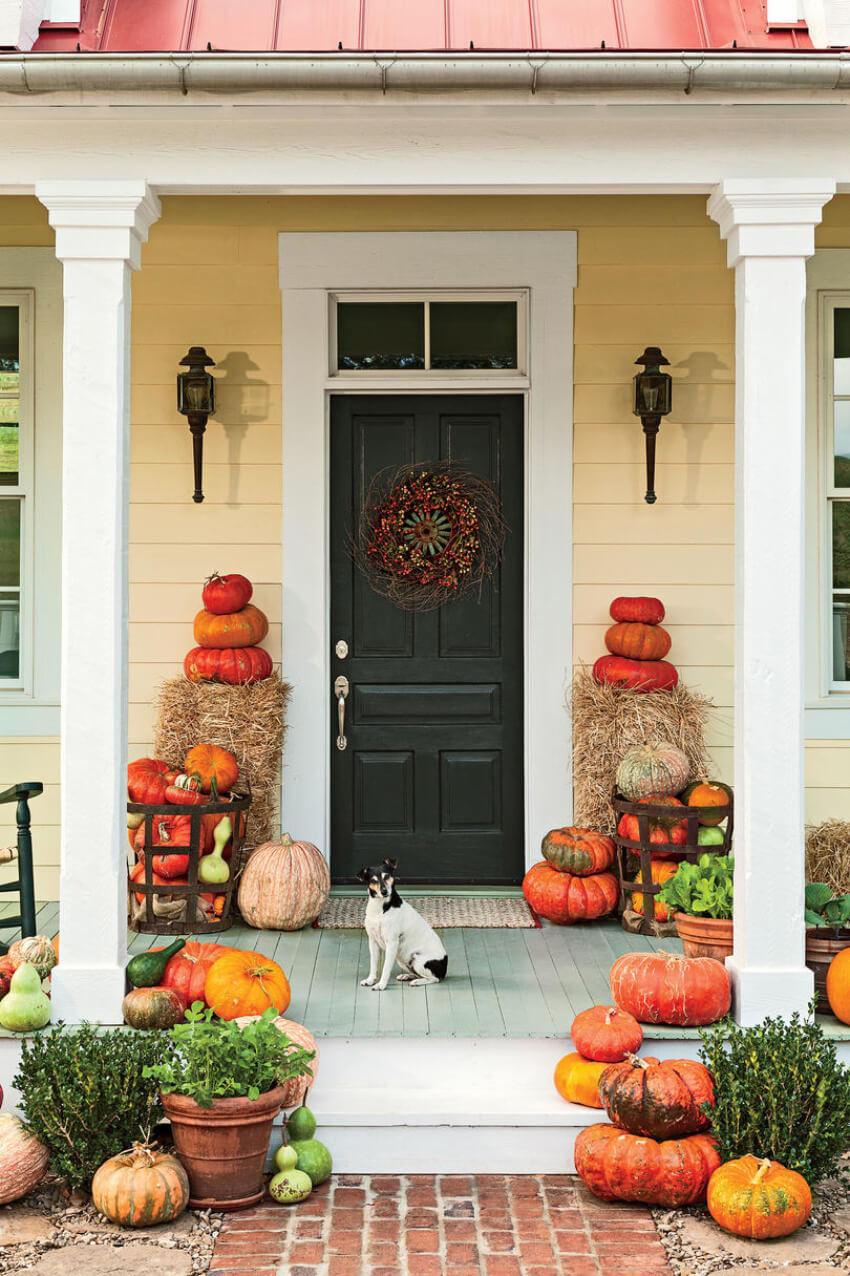 Take advantage of fall's oficial gourd!