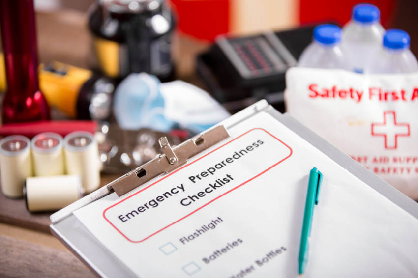 Make sure your emergency supply kit has everything you may need.