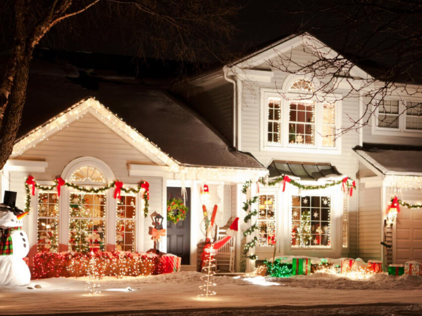 Get your exterior ready to receive some gorgeous holiday decor too.