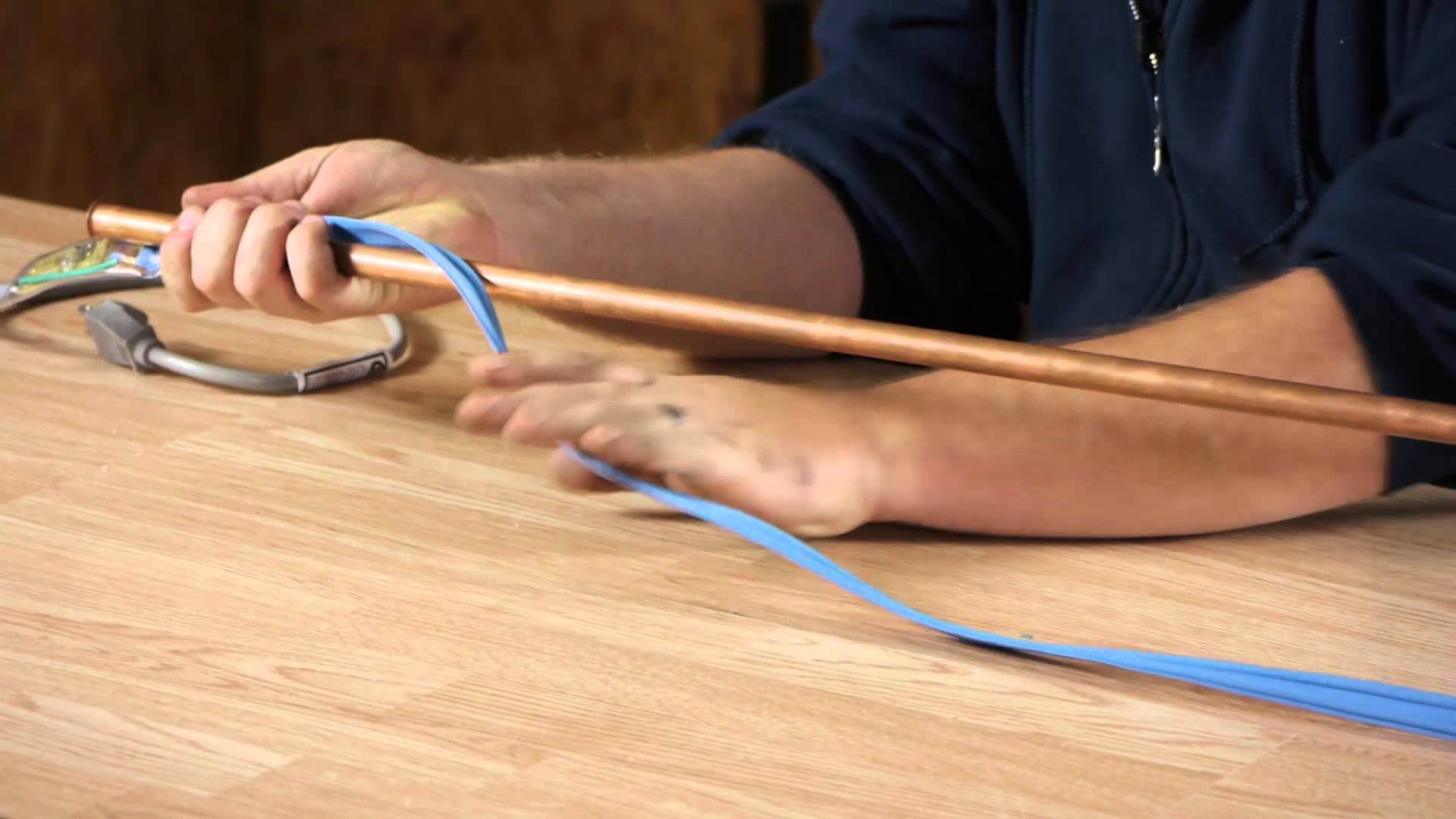 Electical heating coils around the pipe can be a huge game changer