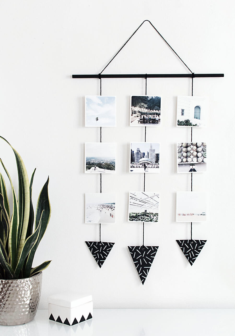 Learn how to hang up pictures like a boss