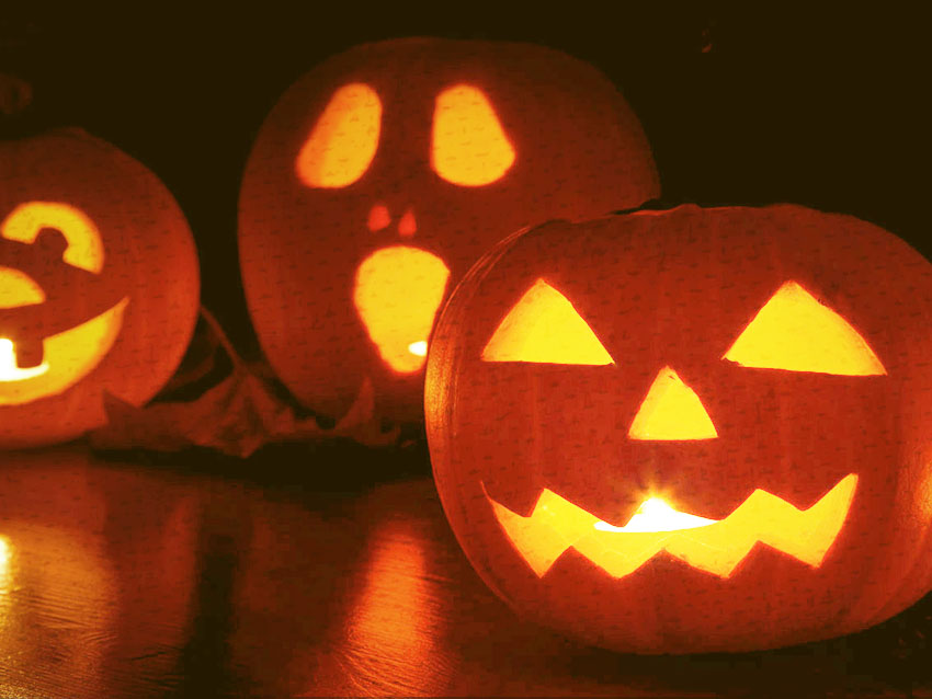It wouldn't be Halloween if there were no Jack O'lanterns lighting up the town!