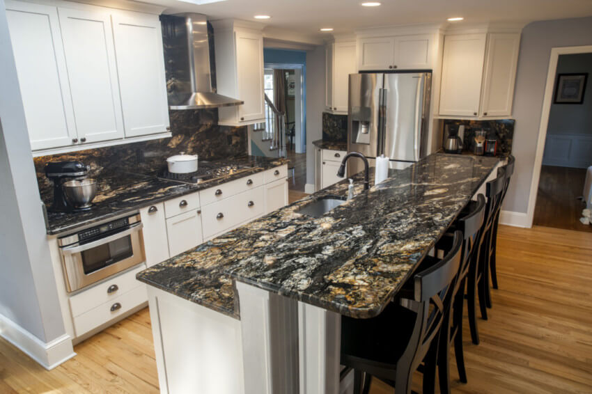 You will need regular sealing for long-lasting granite countertops.