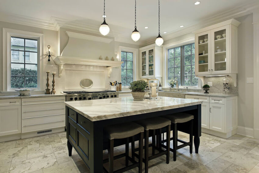 Granite is resistant to chipping, cracking, and scratches!