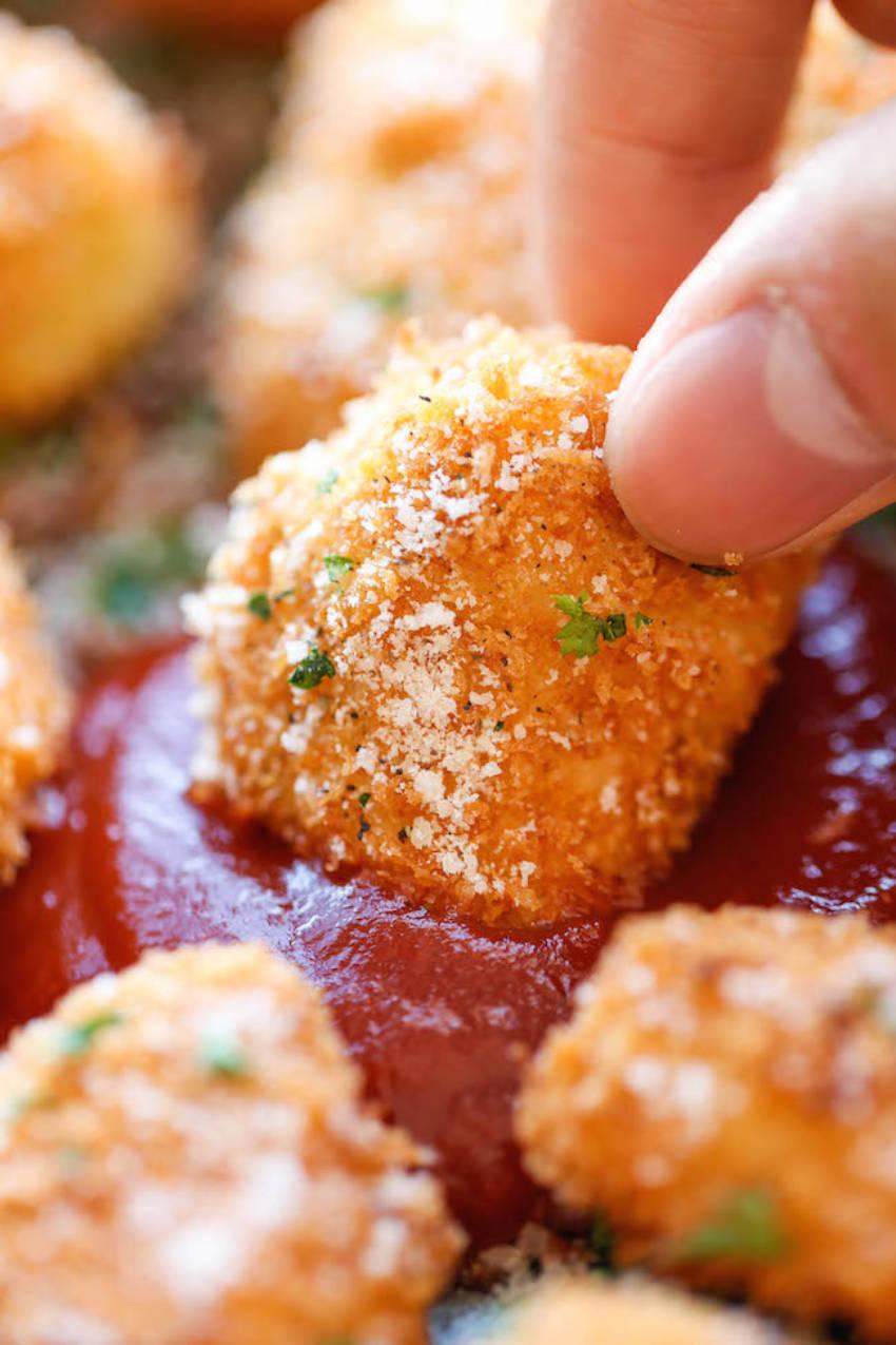 30-minute parmesan chicken bites