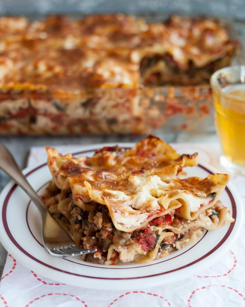 Vegetarian lasagna for the win!