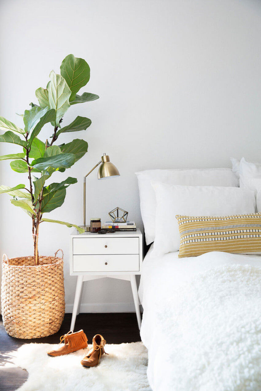 A bedside lamp has many advantages.
