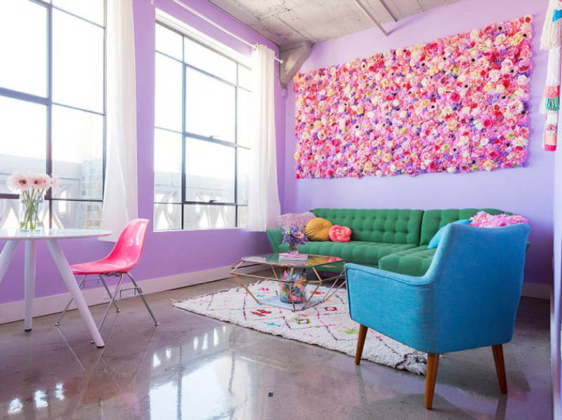 This Is The Most Unique and Colorful Apartment You've Ever Seen