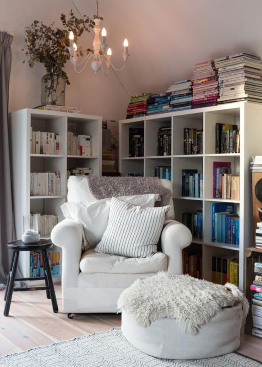 Add a comfortable chair and enjoy your weekend