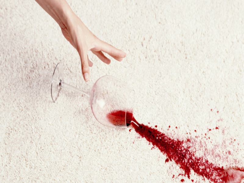 How to Remove Wine Stains from Different Surfaces