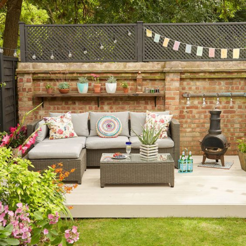 A good-looking patio will make a difference.