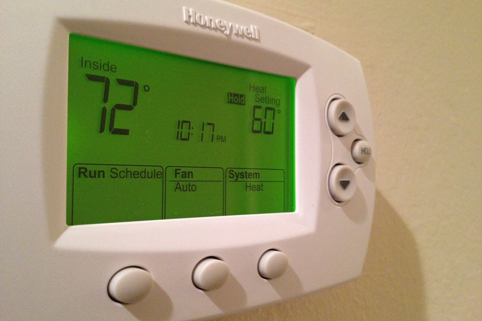 An often underrated trick in the book - the programmable thermostat