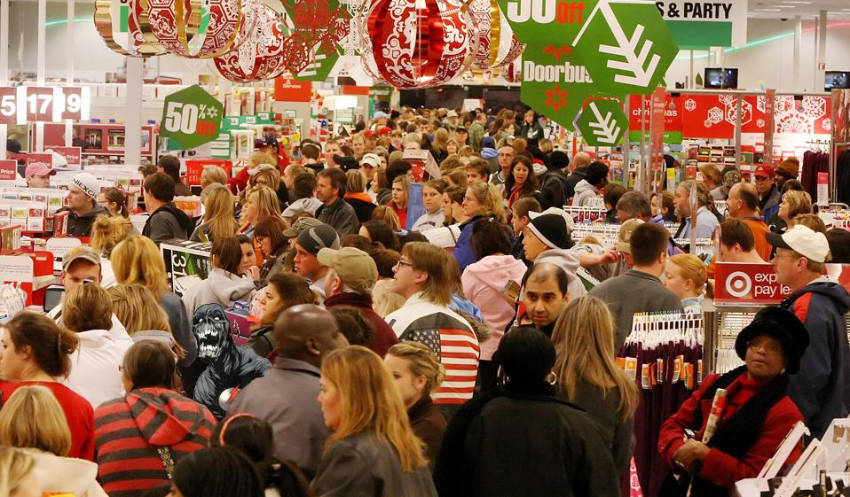 The best time for shopping is now!